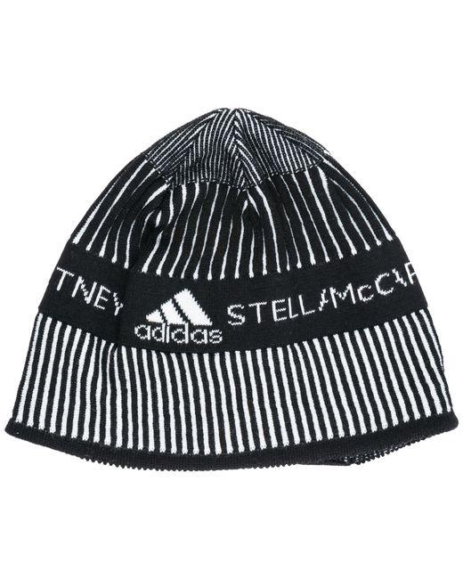 be1993cea4684 Lyst - adidas By Stella McCartney Beanie Hat in Black - Save 48%