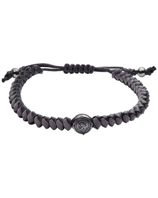 """DIESEL Armband """"DX1065060"""" in Black für Herren"""