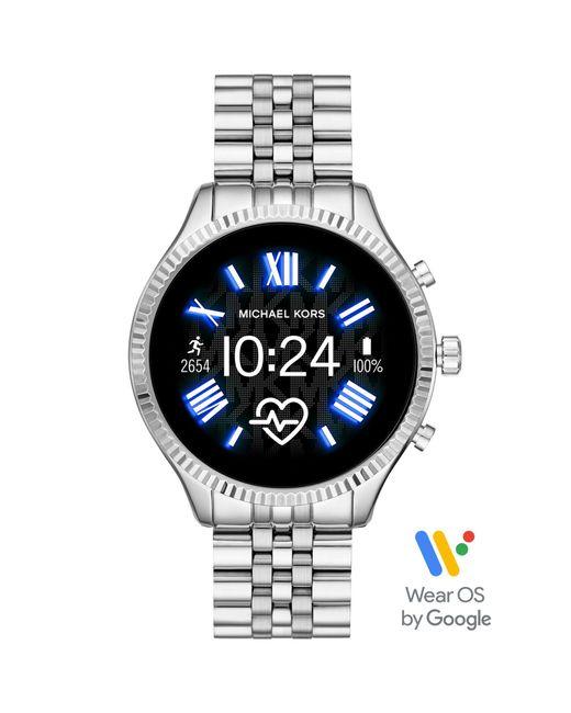 """Michael Kors Metallic Touchscreen Smartwatch Lexington """"MKT5077"""""""