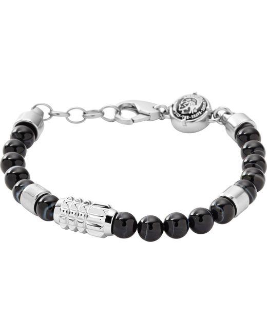 """DIESEL Armband """"DX0847040"""" in Black für Herren"""