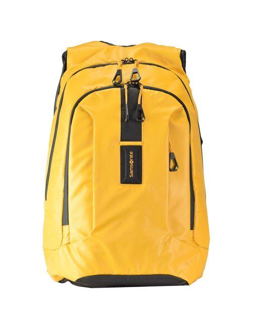 """Samsonite Notebook-Rucksack """"Paradiver Light"""" in Yellow für Herren"""