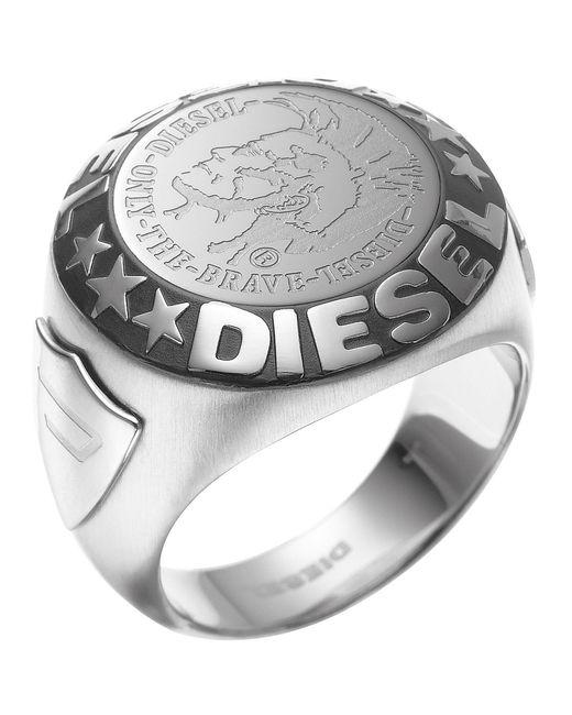 DIESEL Ring in Metallic für Herren