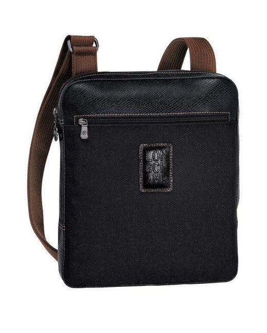 Sac porté travers L Boxford Longchamp pour homme en coloris Black