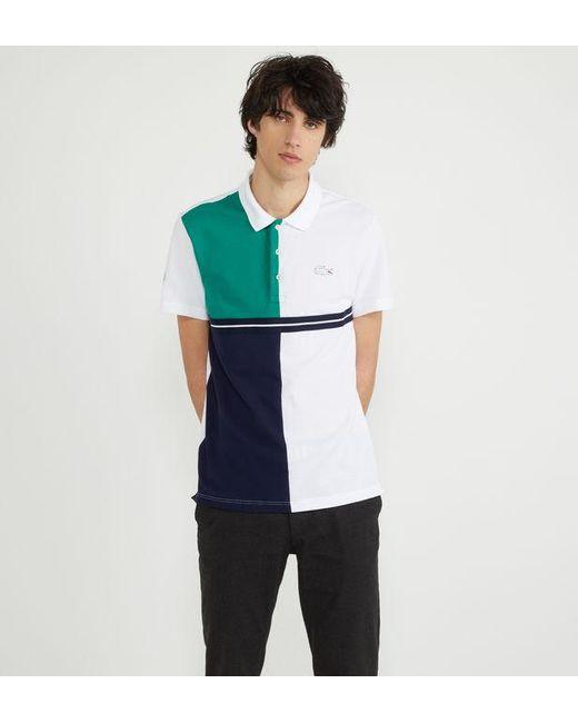 Polo x Roland Garros droit en coton Lacoste pour homme en coloris Multicolor