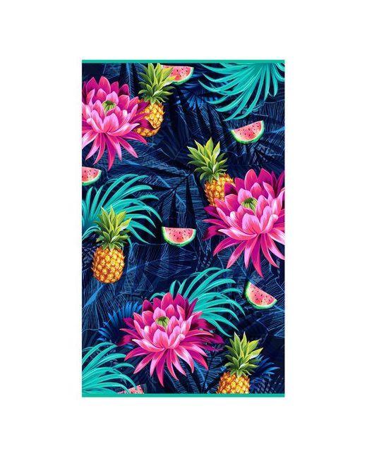 Serviette rectangulaire - Palawan, poche zippée Cabaïa pour homme en coloris Blue