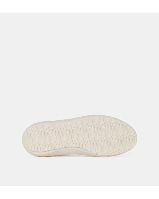 Baskets montantes Nova toile de coton Veja en coloris White