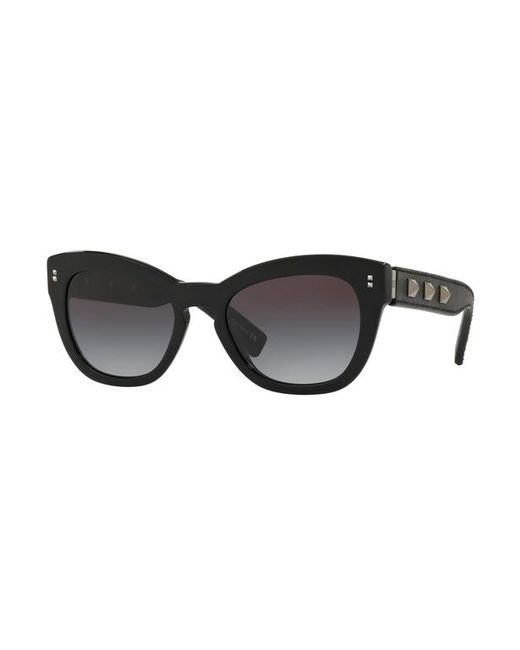 Lunettes de soleil VA4037 Valentino Garavani en coloris Black