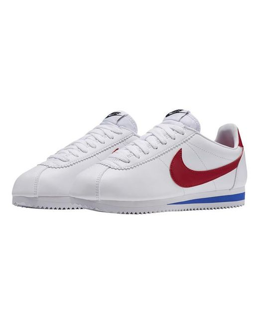 new style 5ed8f ca1a4 ... Nike - White Baskets basses Classic Cortez Leather - Lyst ...