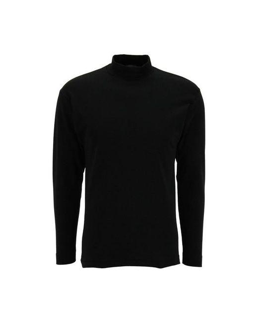 Sous-pull manches longues et col roulé EMINENCE pour homme en coloris Black