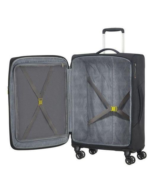 Valise souple TSA ext. 4R 67 cm American Tourister pour homme en coloris Black