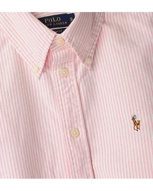 Chemise Harper custom fit Polo Ralph Lauren en coloris Pink