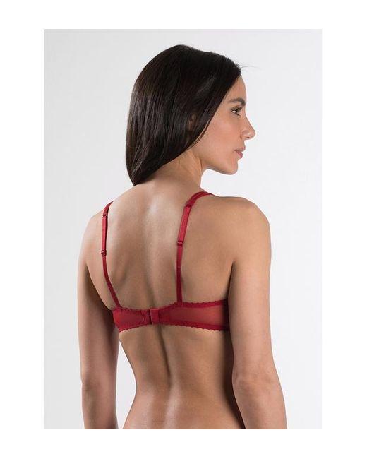 Soutien-gorge push-up à coussinets amovibles À L'AMOUR Aubade en coloris Red