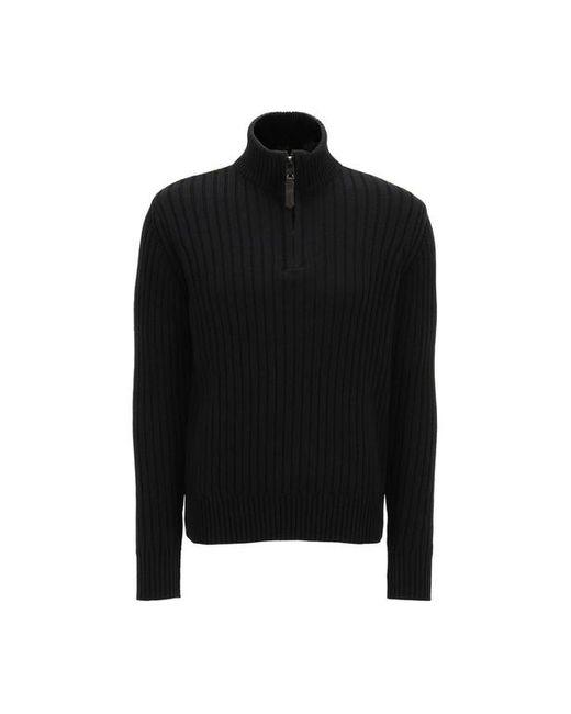 Pull droit gris Schott Nyc pour homme en coloris Black