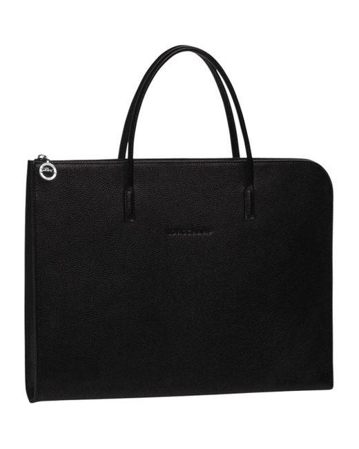 Porte-documents S Le Foulonné Longchamp pour homme en coloris Black