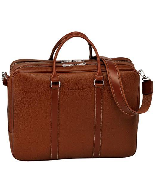 Porte-documents Le Foulonné Longchamp pour homme en coloris Brown