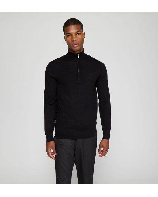 Pull camionneur Dericam laine Galeries Lafayette pour homme en coloris Black