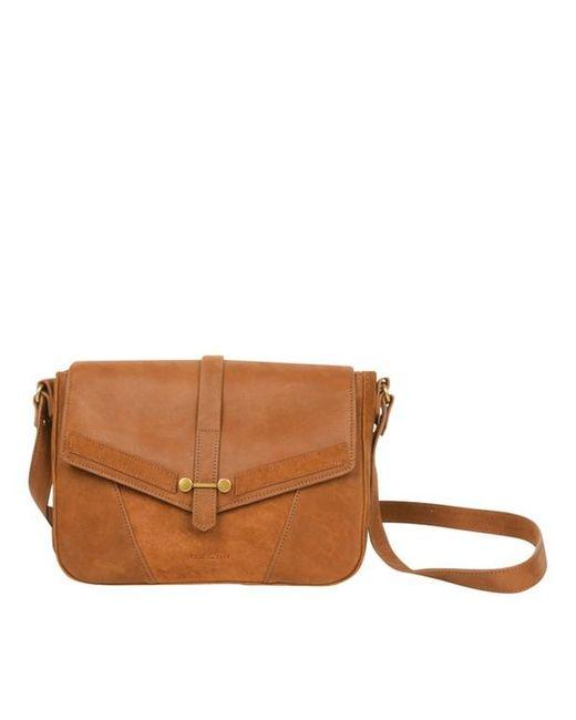 magasin d'usine 1cd0f 56d66 Sac besace Paola femme de coloris marron