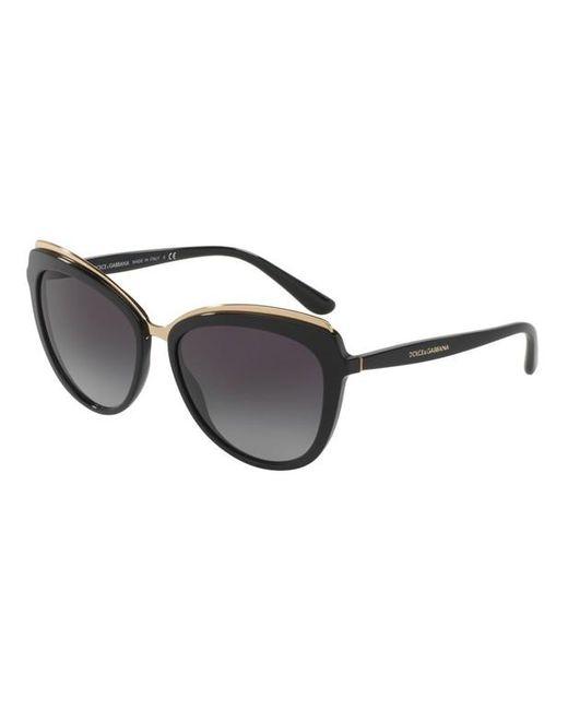 Lunettes de soleil DG4304 Dolce & Gabbana en coloris Black