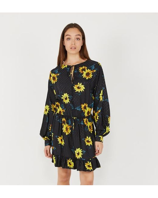 Fluide Robe Kooples The Tournesols Lyst 0YP7qy