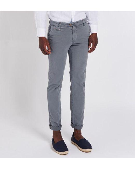 bdf2826b6b6e Lyst - Pantalon chino uni El Ganso pour homme en coloris Gris