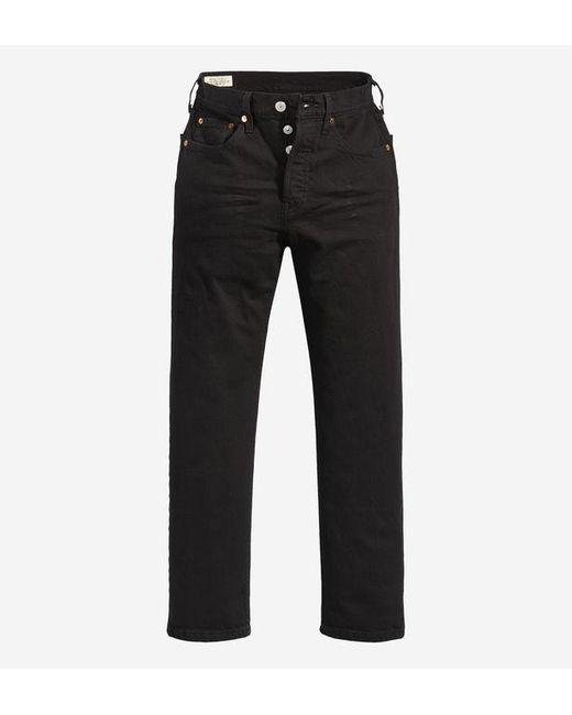 Jean droit 7/8 501 Levi's en coloris Black