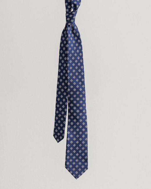 Gant Blue Iconic G Silk Tie for men