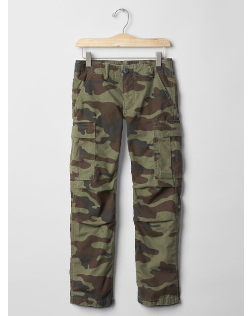 Cool Gap Cargo Pants In Beige For Men Cream Caramel  Lyst