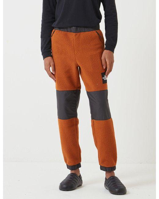 The North Face Brown 'black Label' Denali Fleece Pant for men