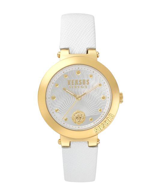 Versus  - Metallic Lantau Island 36mm Strap Watch White/yellow Gold - Lyst