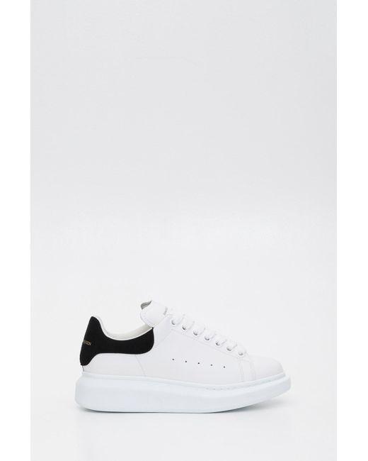Alexander McQueen White Runway Sneakers