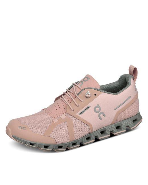 On Pink Cloud Waterproof Laufschuh