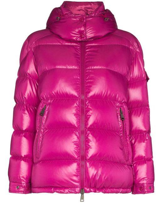 Moncler Pink Fustet Jacket