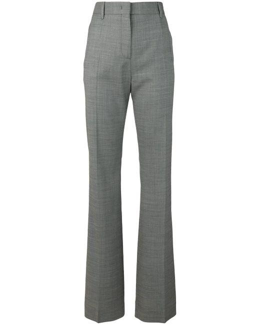 Prada - Gray Classic Tailored Trousers - Lyst