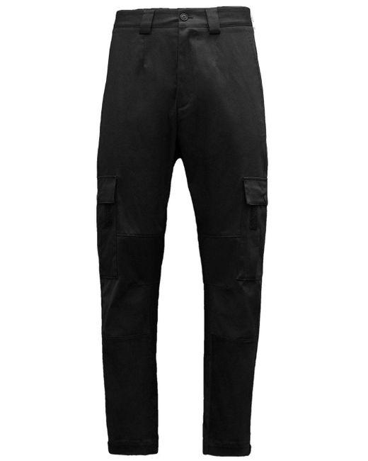 Moncler Black Cargo Trousers for men