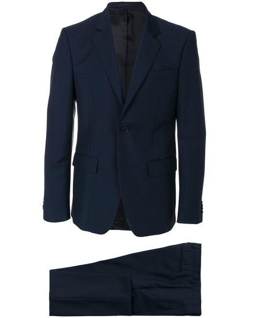 Givenchy - Blue Formal Fitted Two-piece Suit for Men - Lyst