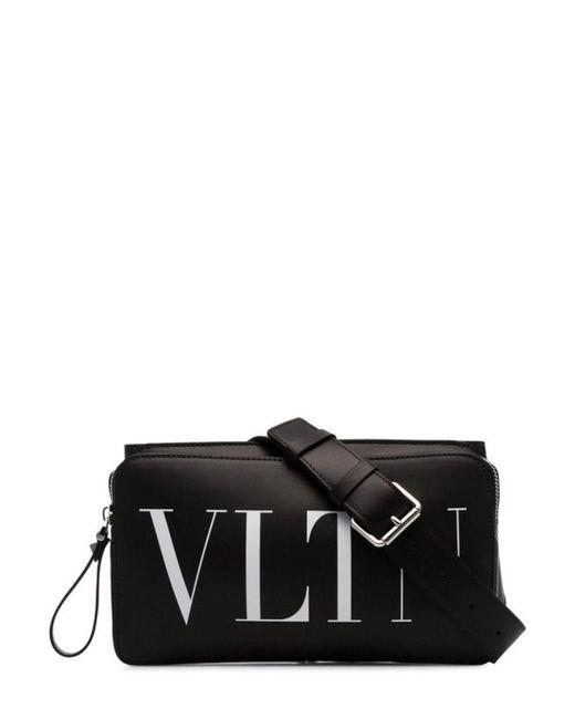 Valentino Garavani Vltn Black Belt Bag for men