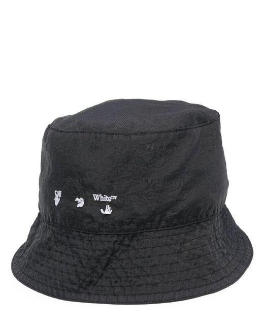 Off-White c/o Virgil Abloh Black Bucket Hat