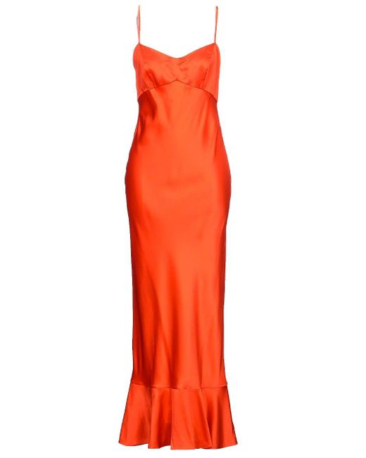Saloni Mimi Dress Orange for men