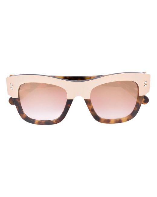 Stella McCartney - Multicolor Oversize Sunglasses - Lyst