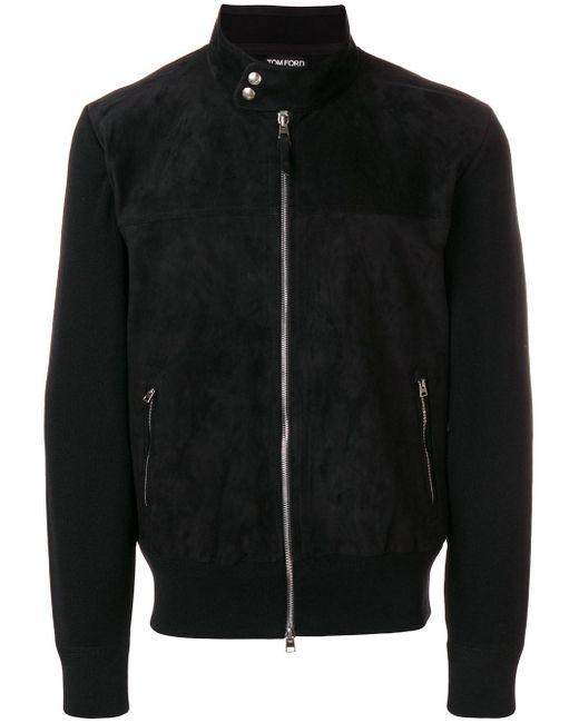 Tom Ford - Black Shawl Collar Jacket for Men - Lyst
