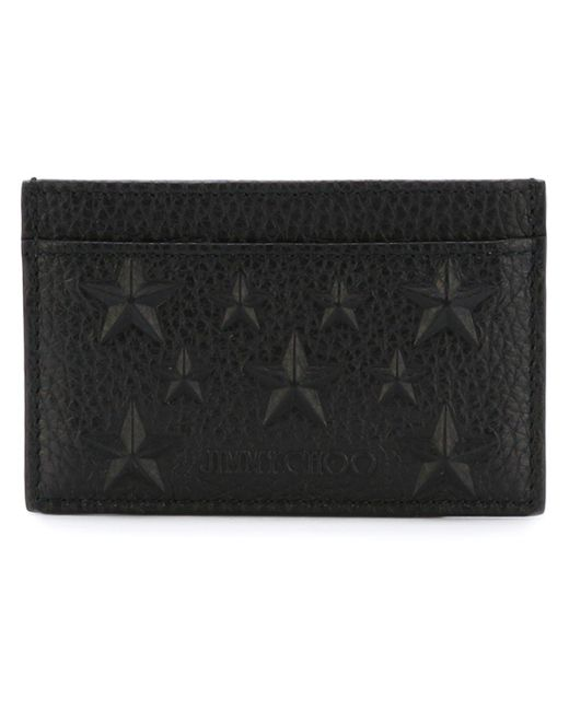 Jimmy Choo - Black 'dean' Cardholder for Men - Lyst