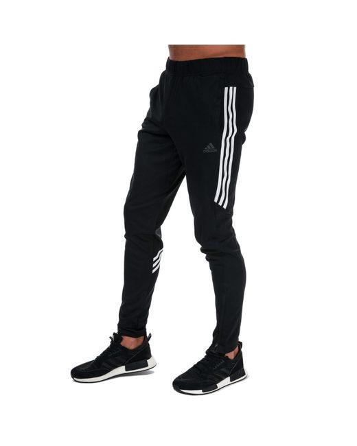 Adidas Black Run It 3-stripes Astro Pants for men