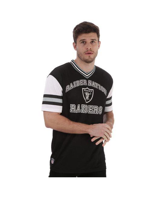 KTZ Black Stripe Sleeve Oversized Or T-shirt for men