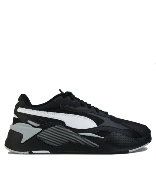 PUMA Black Rs-x3 Accent Trainers for men