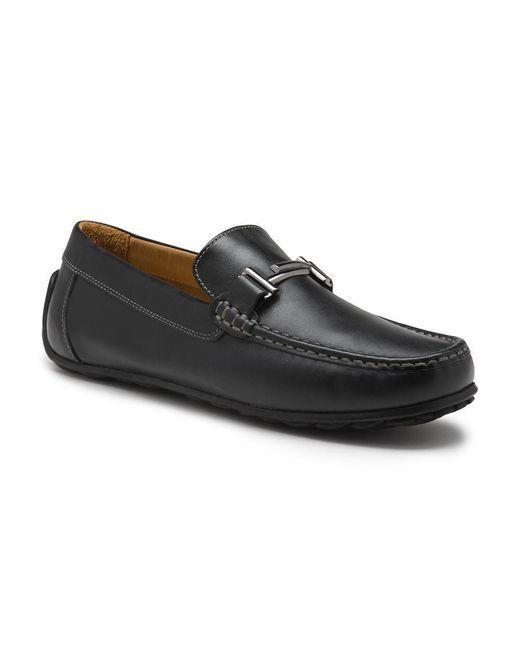 G.H.BASS Black Marco Loafer for men