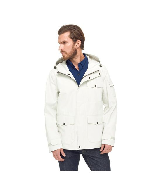 G.H. Bass & Co.   White Waterproof Explorer Mountain Rain Jacket for Men   Lyst