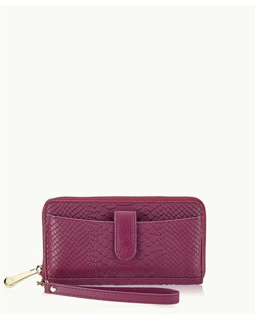 Gigi New York | Purple City Wallet | Lyst