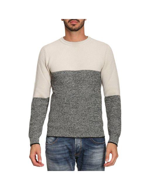 Paolo Pecora | Gray Sweater Men for Men | Lyst