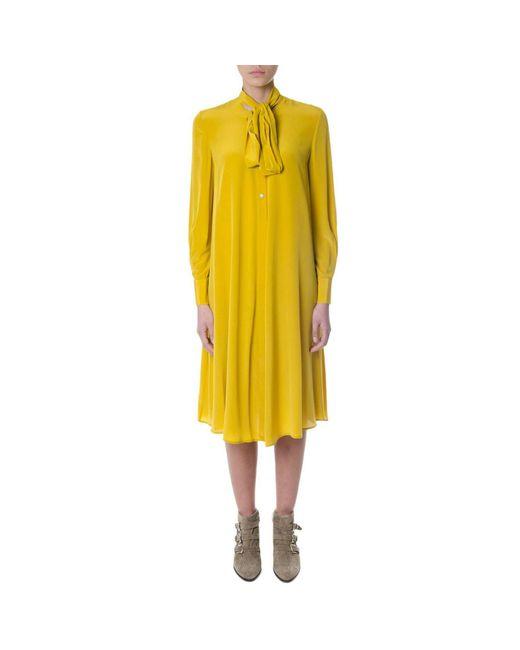 McQ Alexander McQueen - Yellow Dress Women - Lyst