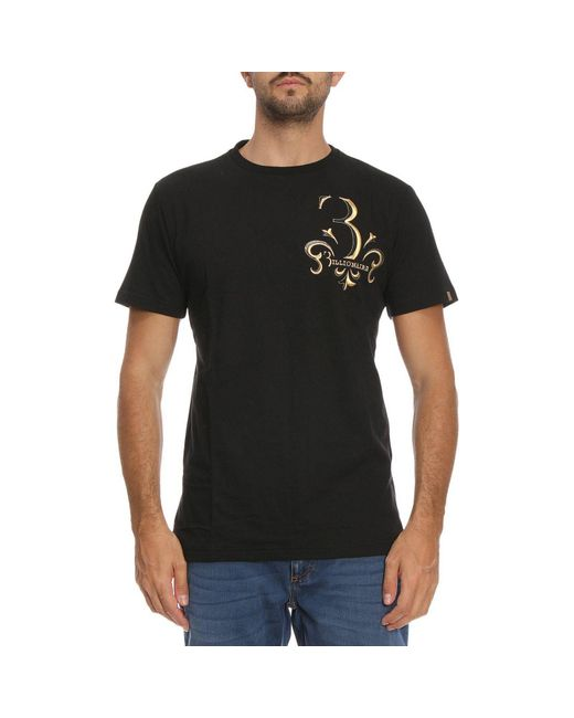 Billionaire - Black T-shirt Men for Men - Lyst